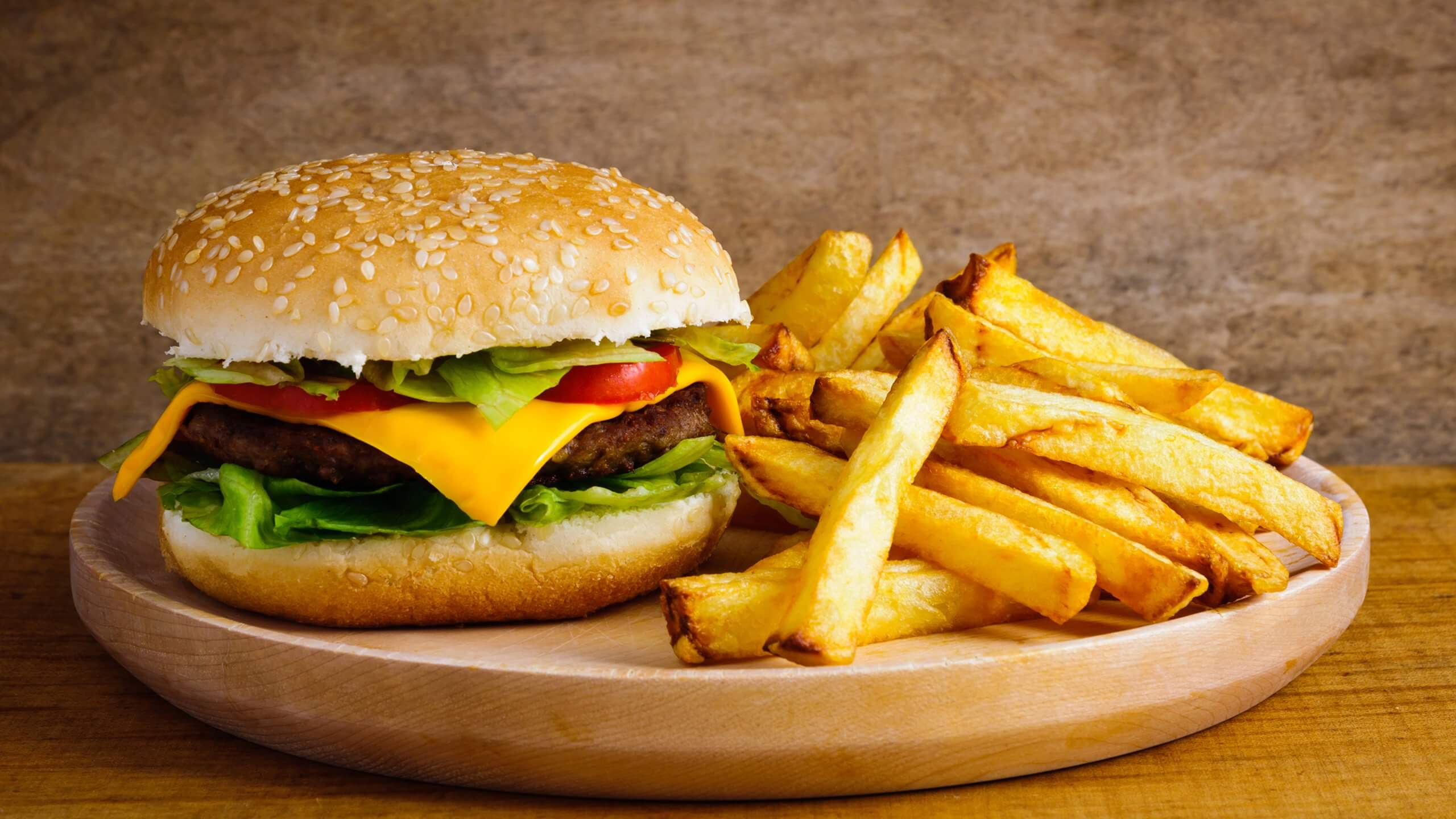 Accompagnement burger maison