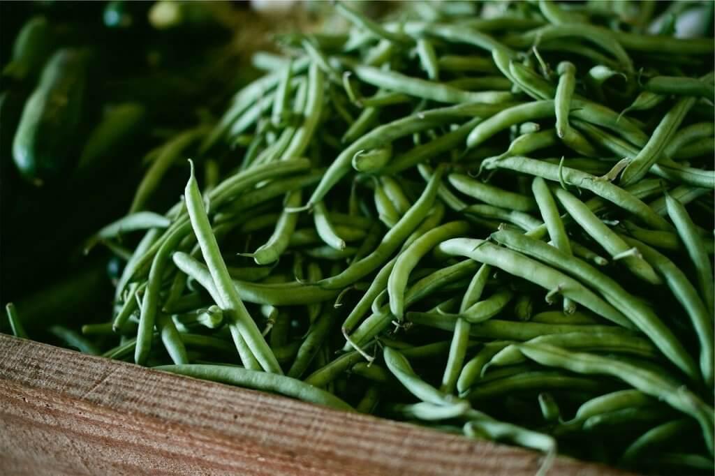 Haricots verts au beurre et à l'ail